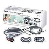 Beurer MG 70 Infrarot Massagegerät, Klopfmassage, zur Massage von Rücken, Nacken, Arme, Beine,...