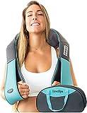 Shiatsu-Rücken Schulter- und Nackenmassagegerät mit Wärme - Knetkissen- Massagegerät für...