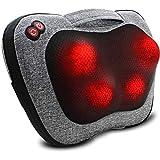 Rückenmassagegerät, Nackenmassagegerät mit Wärme, Massagekissen Geschenke für Männer & Frauen,...