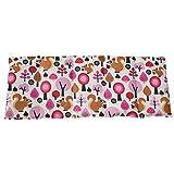 Dinkelkissen 50x20cm Wald pink Wärme + Kältetherapie Körnerkissen 100% Baumwolle