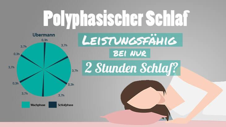 Polyphasischer Schlaf 2 Stunden