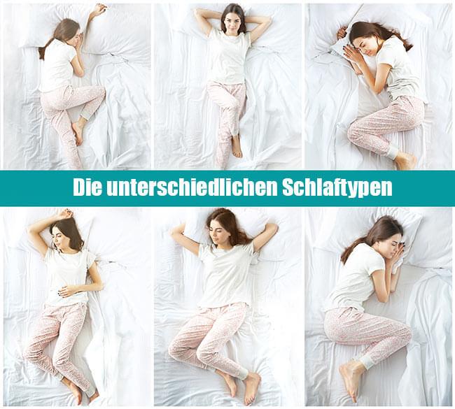 Der Schlaftyp entscheidet über die richtige Wahl es Schlafkissens